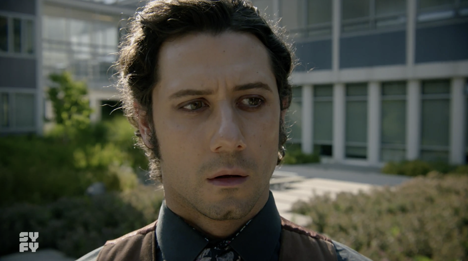 Also on  The Magicians , Eliot is seemingly alive and well even though his body is being possessed by the monster.
