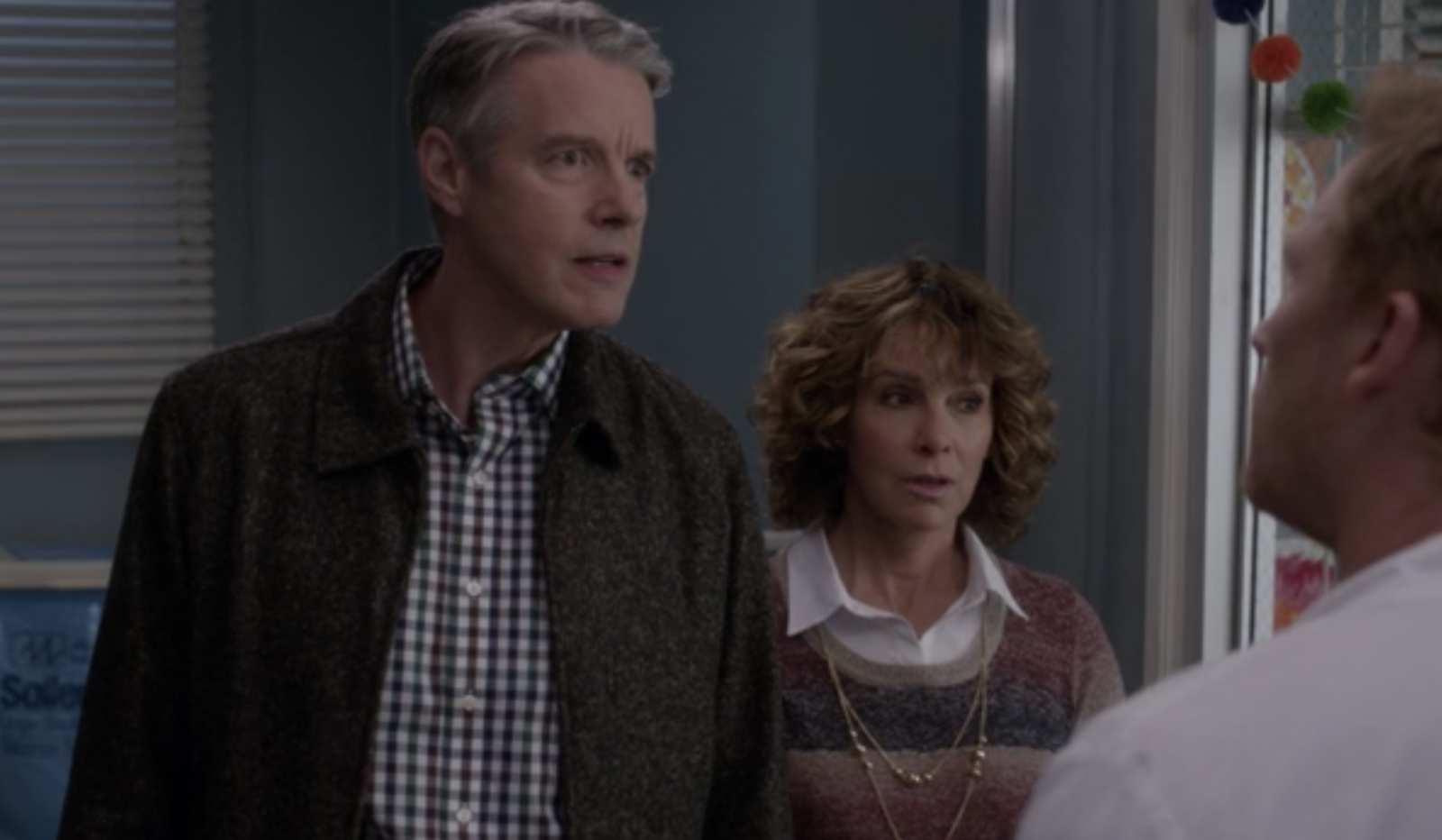 On  Grey's Anatomy , Betty's parents arrived at Grey-Sloan looking for her and caused some problems for Owen and Amelia when they wanted to take Leo.