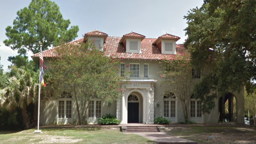 The LSU Delta Kappa Epsilon house