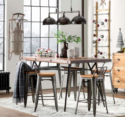 Get four from AllModern for $198.89 (originally $392, available in four colors).Enter GOFORIT at checkout to enjoy the listed sale price!