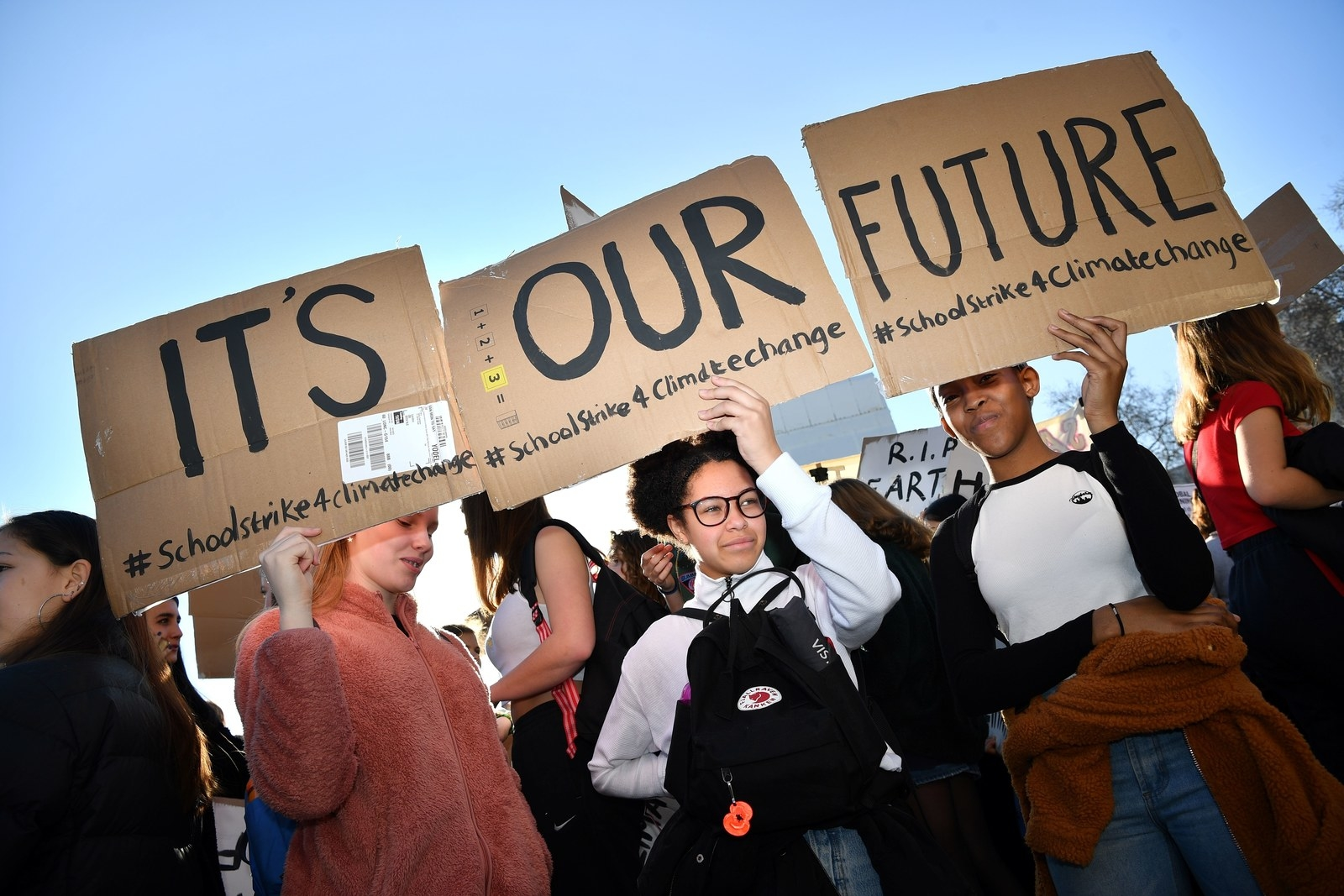 Thousands Of Teens Have Gone On Strike From Schools Across Europe To Demand Action On Climate Change