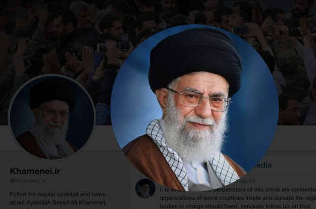 Twitter Just Removed A Tweet From An Account Linked To Iran's Supreme Leader, Raising Enforcement Questions