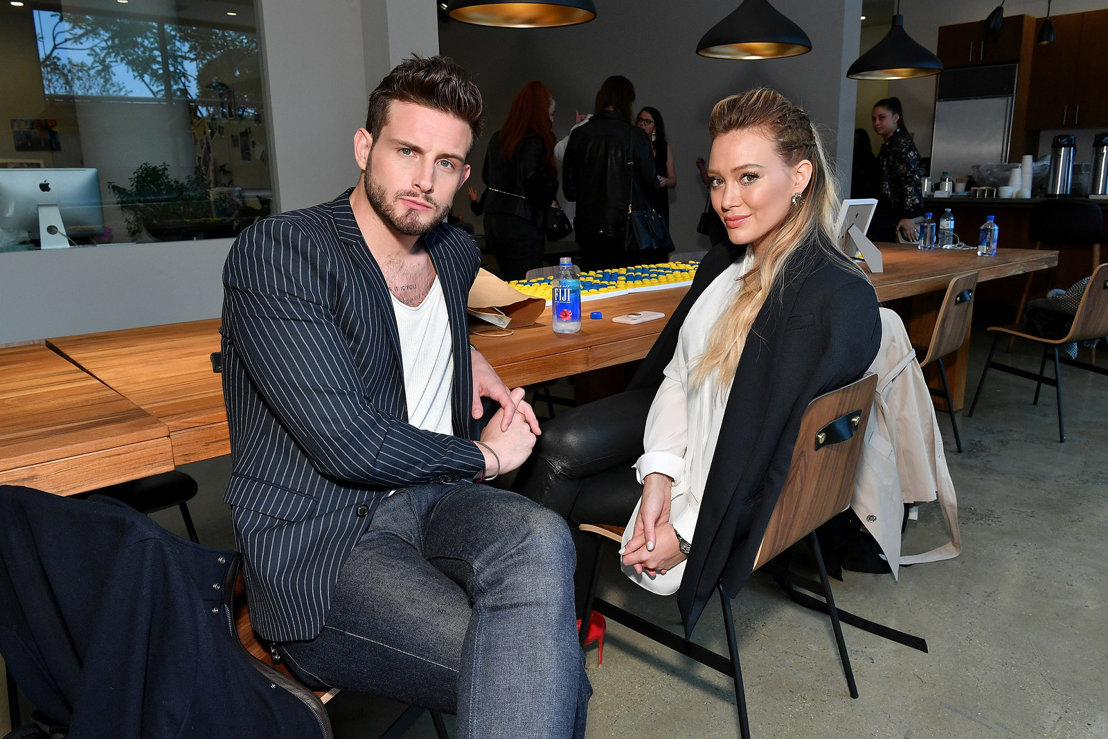 Hilary Duff Gave Nico Tortorella Her Breast Milk And He Drank It