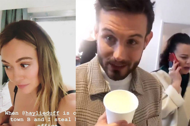 Hilary Duff Gave Nico Tortorella Her Breast Milk And He Drank It