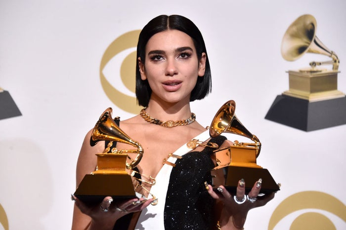 She won Best New Artist and Best Dance Recording.