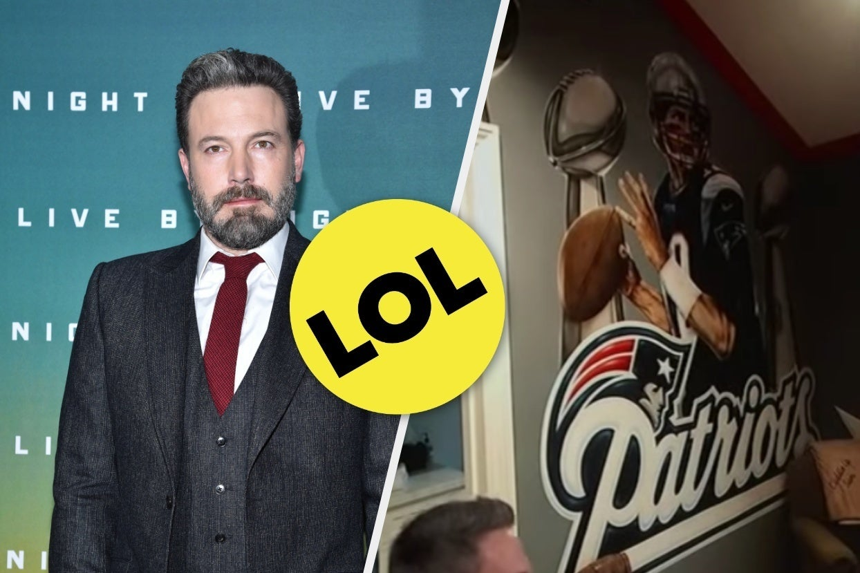 Ben Affleck's Kid Wasn't A Fan Of Boston Teams So Ben Affleck Redecorated His Entire Room