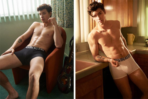 16 Reactions To Shawn Mendes' New Calvin Klein Pics