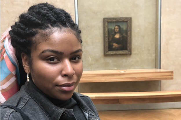 Black Women Are Sharing Photos Of Themselves In Front Of The Mona Lisa And Here's Why