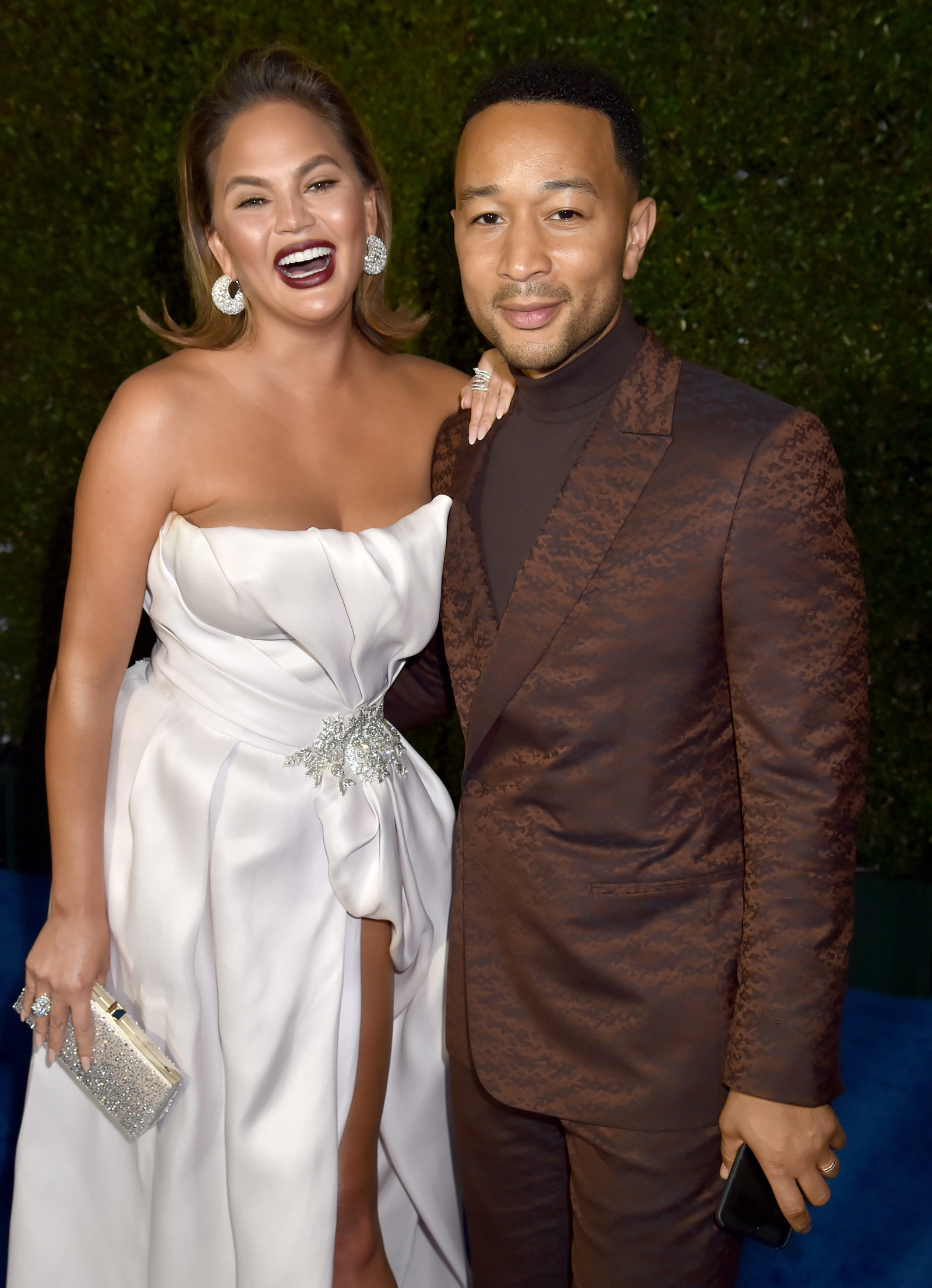 Chrissy Teigen Joked About Cheating On John Legend