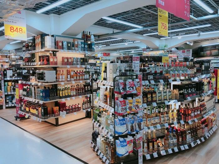 食品約2000種を合わせたらおよそ9000種の品揃え。この販売量、敷地面積はビックカメラの中で最大だそうです。