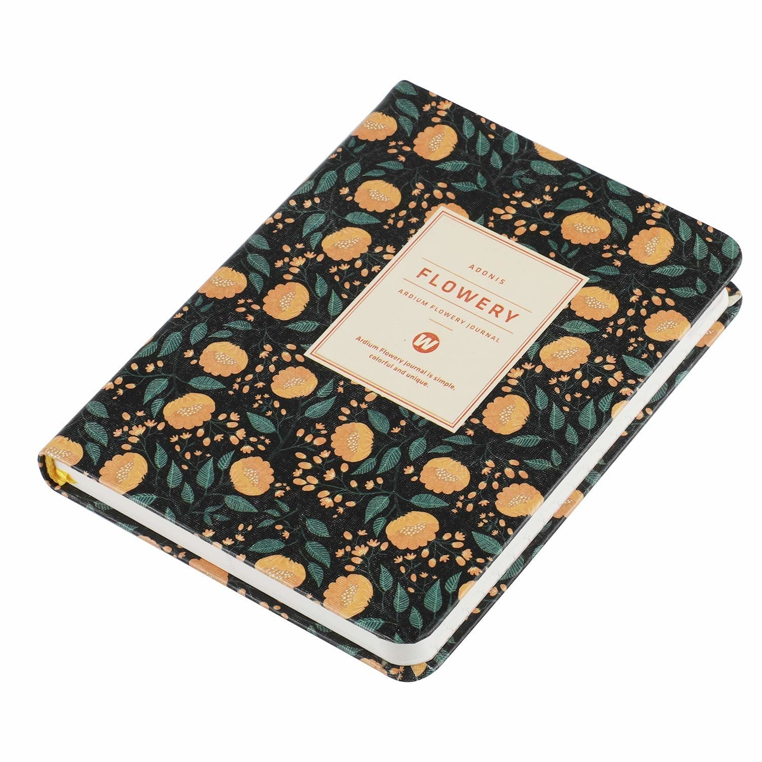 A floral planner with blank calendars you can customize yourself, so you won't feel guilty for starting a new planner in February (or March) (...or June).