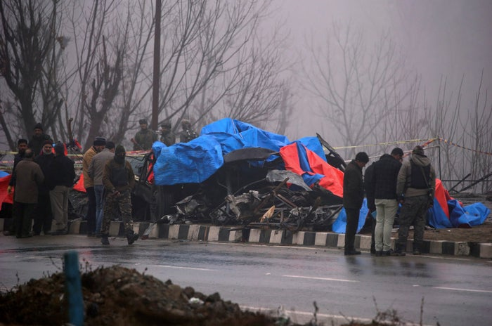 42 Indian soldiers died in the terror attack in Pulwama.