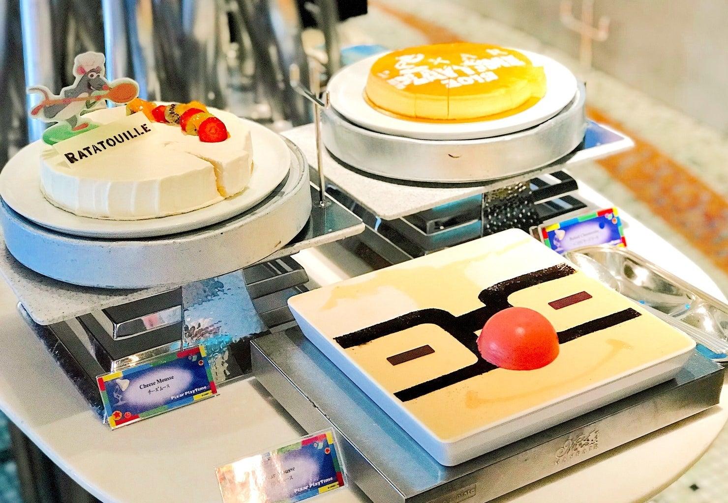 東京ディズニーシーの園内にあるホテルミラコスタ。現在、ホテルの中にある地中海料理レストラン「オチェーアノ」で、ピクサー映画をモチーフにしたランチビュッフェを開催しています。