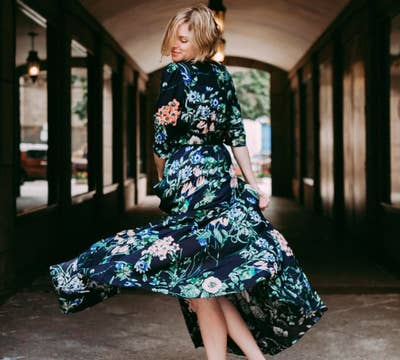e12db0f813a A gorgeous flowing maxi dress you ll rule everyone s Instagram feeds  wearing.