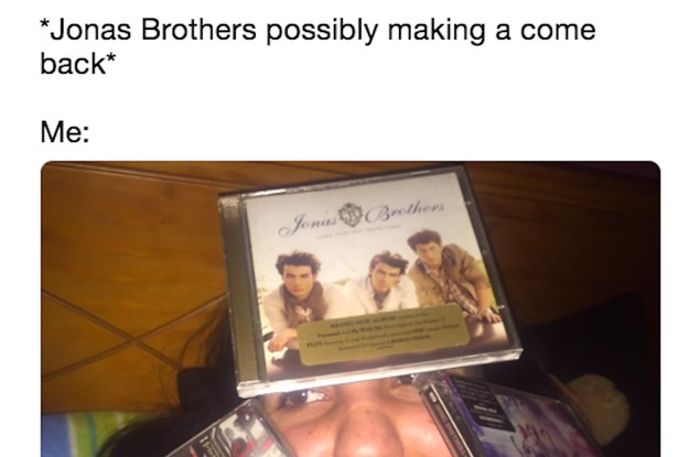 There's A Rumor That The Jonas Brothers Are Reuniting And People Are Losing Their Gosh Darn Minds