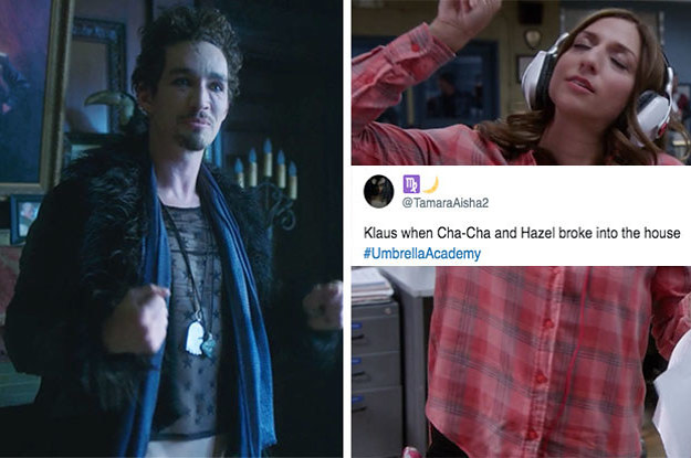 """23 Posts For People Who Know That Klaus From """"Umbrella Academy"""" Is The Best Sibling"""