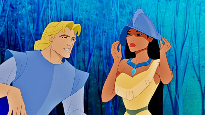 You can tell they tried to be respectful to Pocahontas' tribe but along with all the inaccuracies and portraying John Smith as a dashing romantic hero instead of the lying jerk he was, it turned out terrible. —colleend9