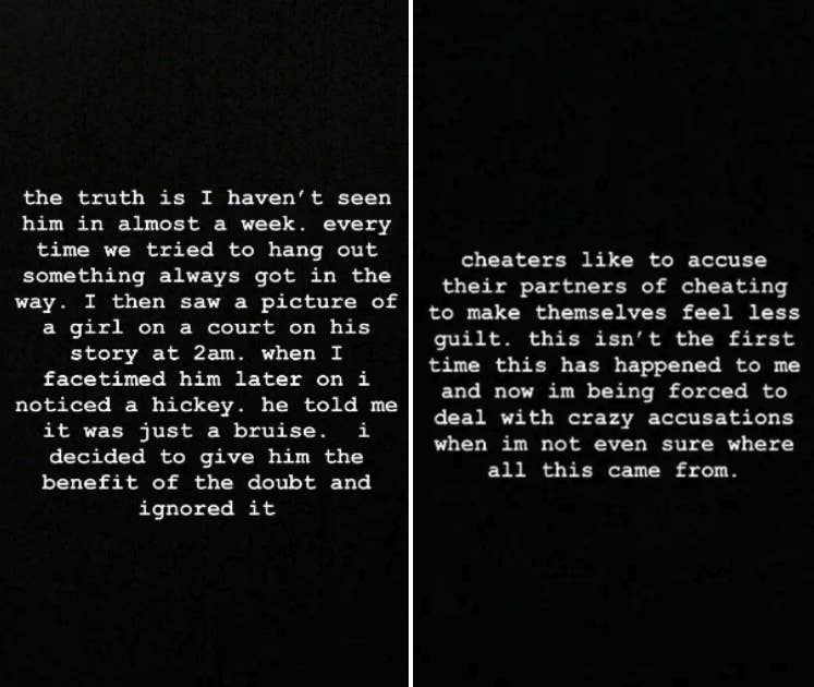 Noah Cyrus Shared Emotional Posts On Instagram After Ex-Boyfriend Lil Xan's Announces His Girlfriend Is Pregnant