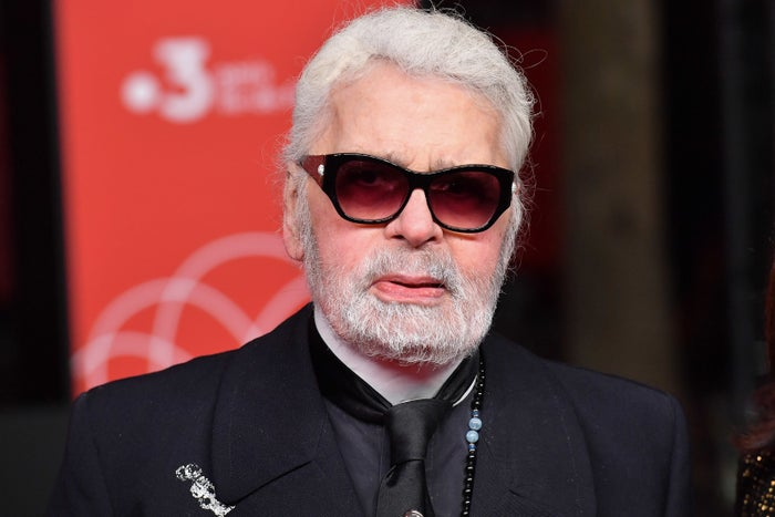 A spokesperson for the fashion house confirmed Lagerfeld had been admitted to hospital in Paris on Monday night and died on Tuesday morning.