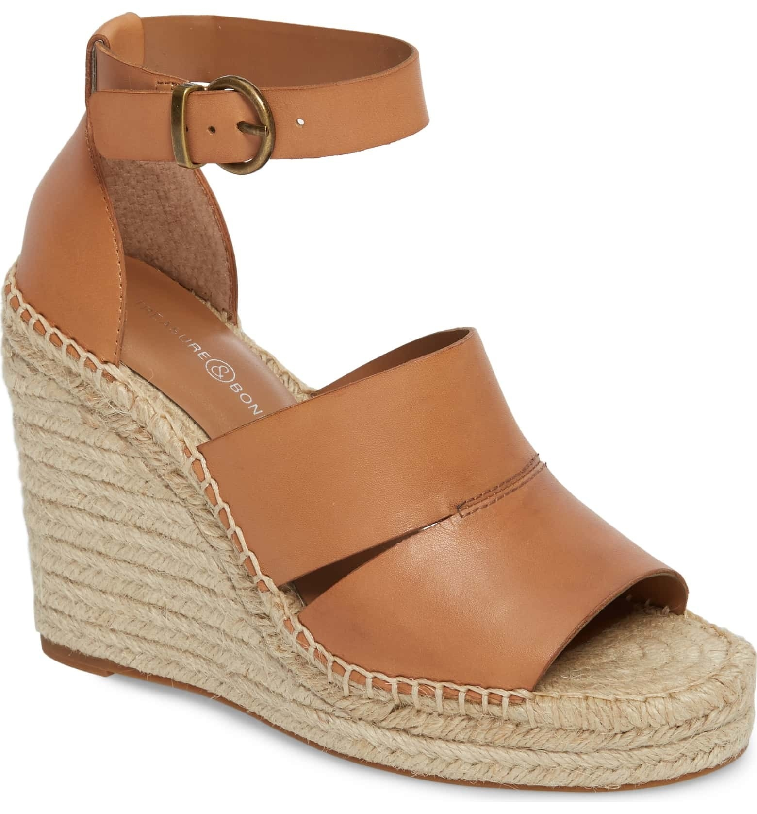 c61e7cd4b Platform espadrille wedges to put a spring in your step as soon as the sun  starts shining again.