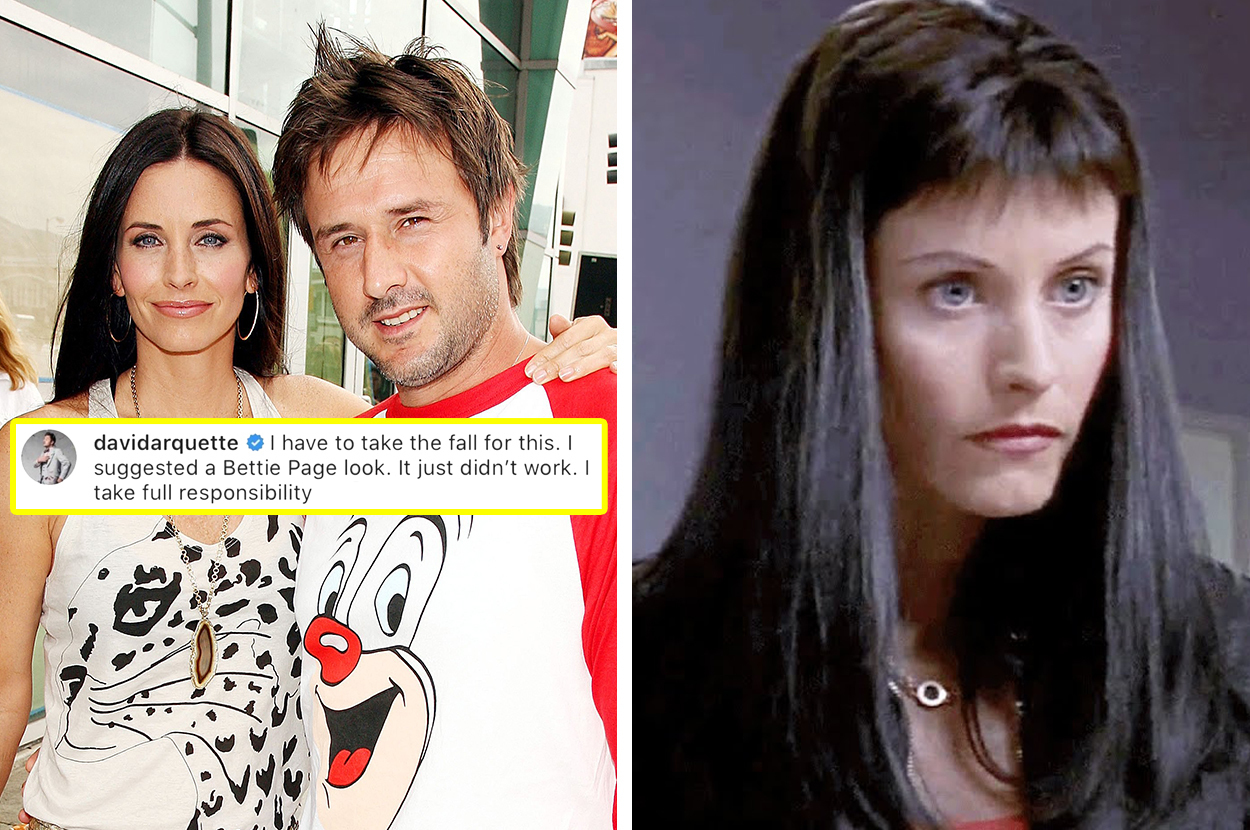 Courteney Cox S Ex Husband Just Admitted Her Terrible Scream 3 Haircut Was His Idea