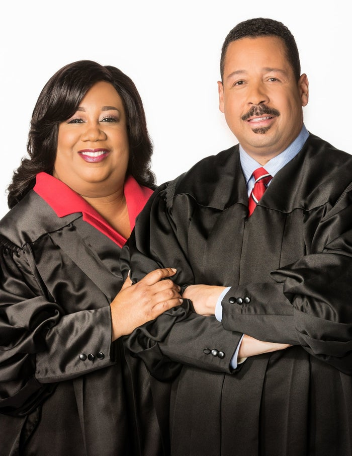 "The Cutlers are real-life lawyers who have been really married for 29 years. ""Couples Court"" is the first time these two had ever done TV. That's impressive because they are really good at it and being good at TV is not an easy thing."