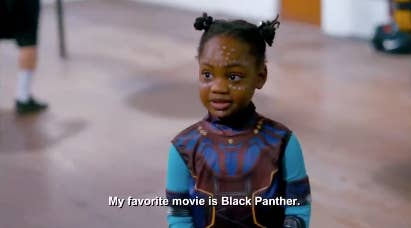 My favorite movie is also Black Panther, sweet child.