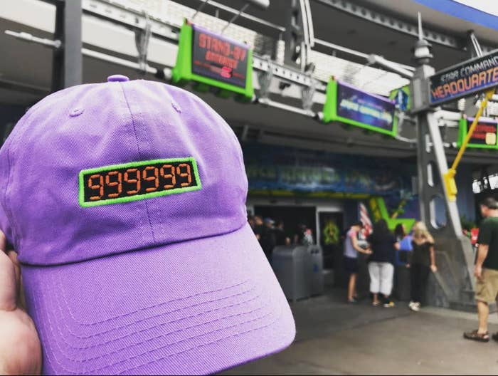 1a3be1c2453 Or a hat inspired by Space Ranger Spin — ideal for any couple that finds  themselves getting super competitive during the ride.