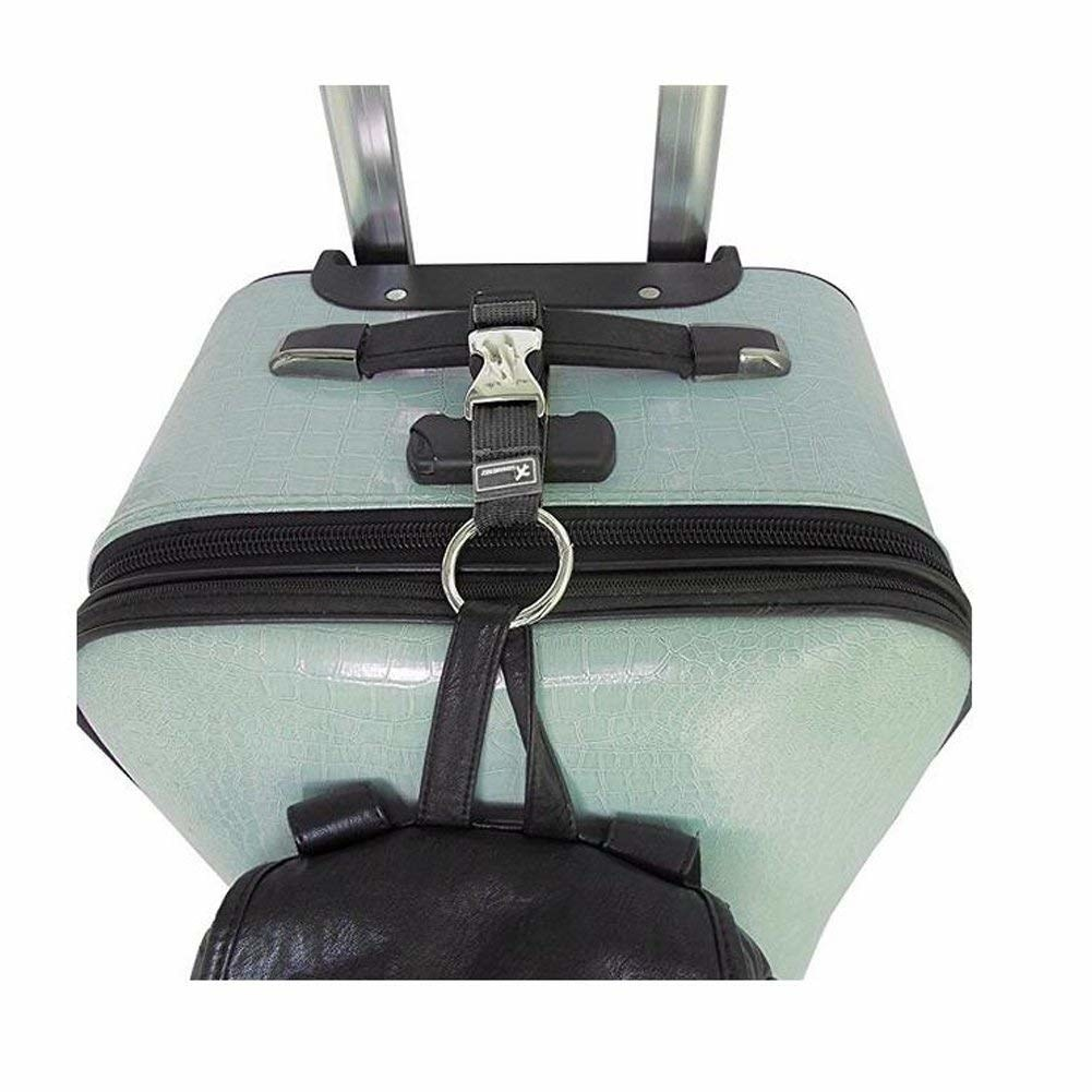 Sky Blue Luggage Strap Travel Straps Baggage Belts with TSA Password Lock