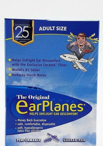 the box of earplugs