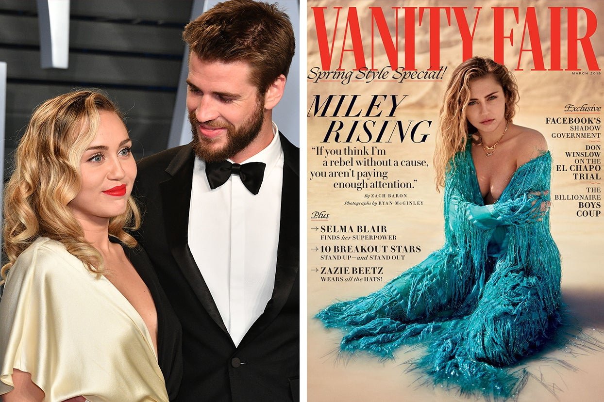 Miley Cyrus Opened Up About Being Queer In A Heterosexual Relationship And Why She Married Liam Hemsworth