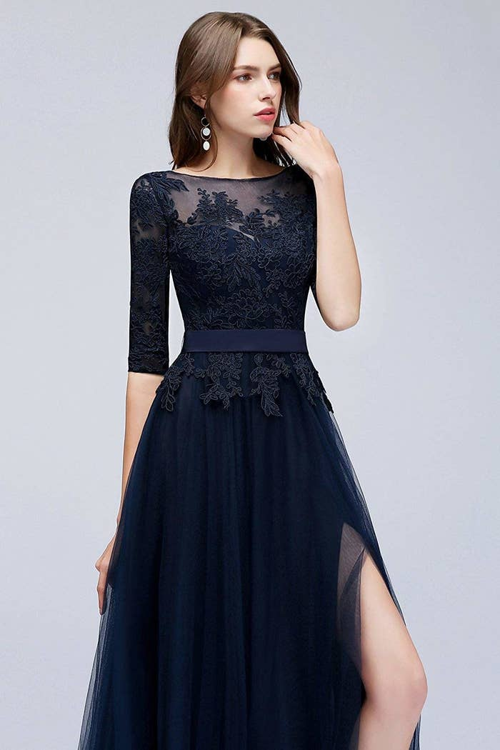 69e4230eae29 A tulle ballgown with a secret slit — a fashion statement you won t just  want