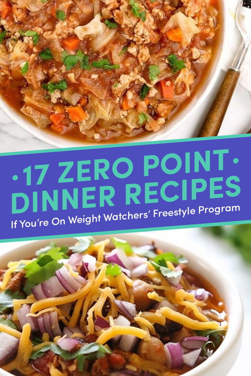 17 Delicious Dinner Recipes That Happen To Be Zero WW Points