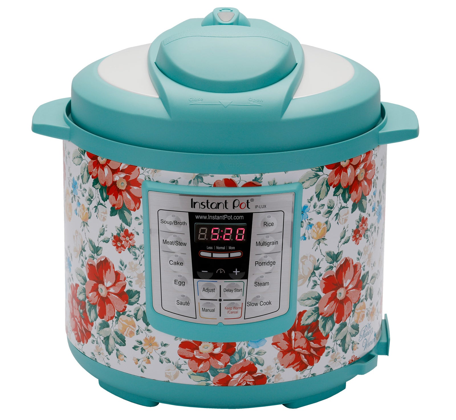 """It features 12 built-in programs, speeds up normal cooking speeds by two to six times, and a has a three-ply inner pot stainless steel bottom.Promising review: """"Instant pots are not only one of the most used cooking tools in my kitchen, but also one of the most convenient ways to cook many dishes. Not only do they have a wide array of functions but these special edition versions are sure to brighten up your counter top as well! All it takes is some Googling to find awesome recipes and most of them can all be cooked by placing all the ingredients in the pot and setting the function and timer. To go the extra mile, some recipes call for using steam racks and/or combining two dishes to cook at once, (usually rice and something else). I am still learning and hope to master all the functions."""" —DizzleChizzleGet it from Walmart for $99 (available in two colors)."""