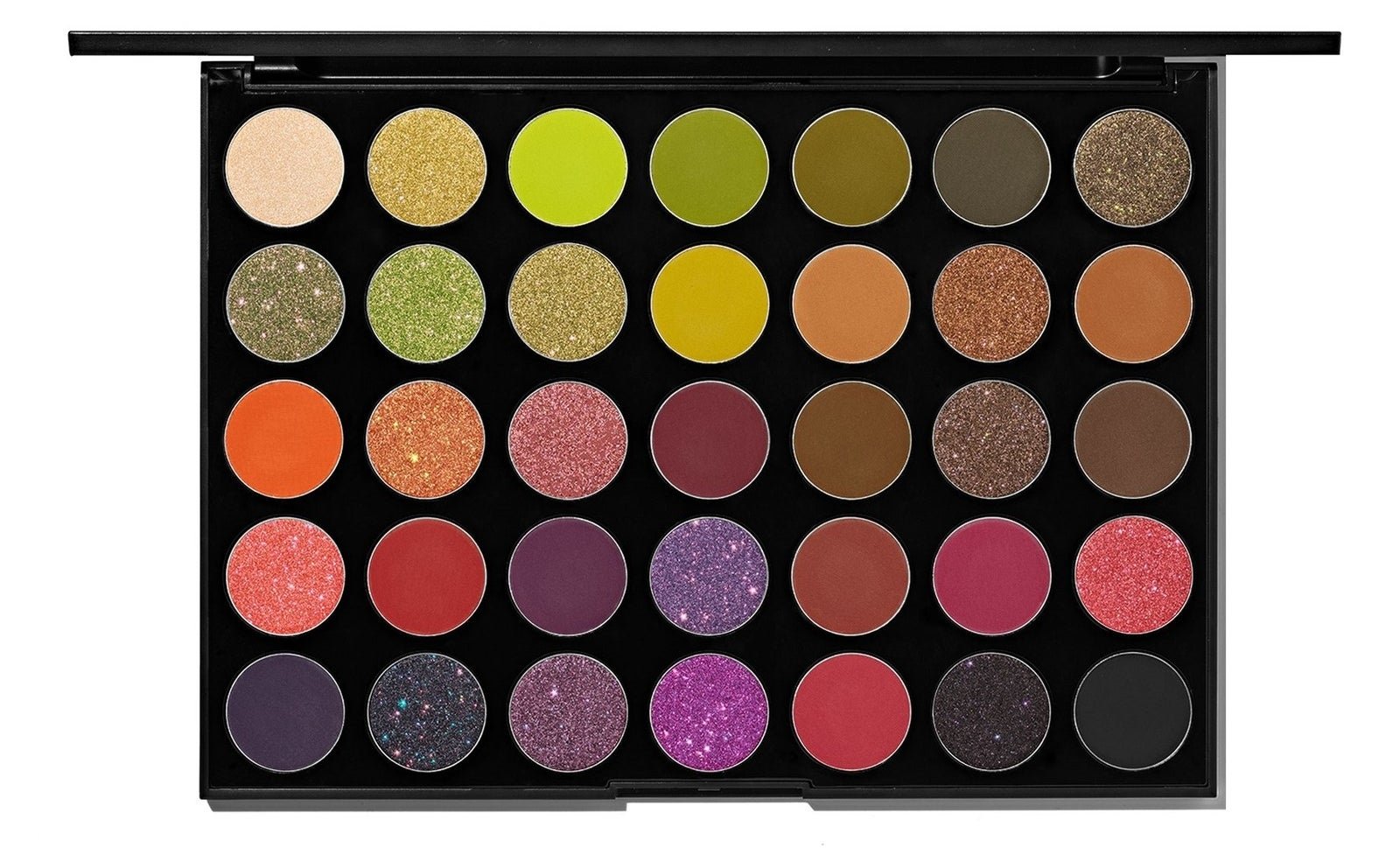 This palette, like most Morphe palettes has super creamy, blendable, and highly-pigmented colors.Get it from Ulta for $24.