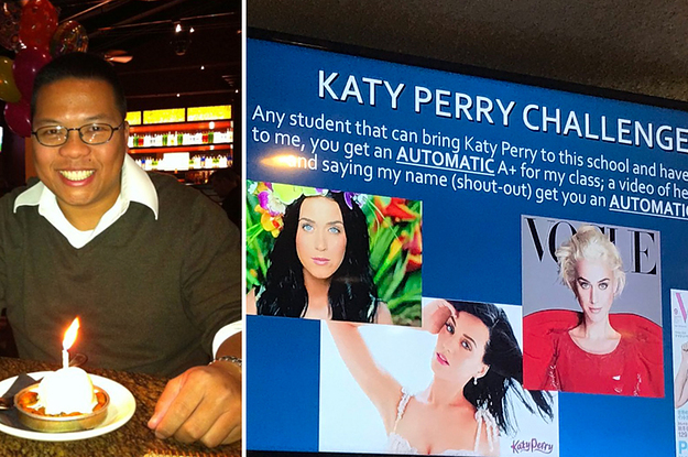 A High School Teacher's Assignment To Students To Get Katy Perry's Attention Has Gone Viral But Not...