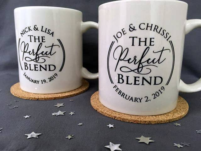 3c59fc081dc Caffeinated couple appreciation mugs, so your family and friends can cheer