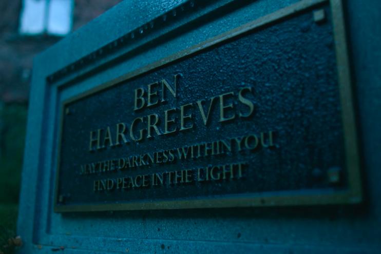 Ben's grave