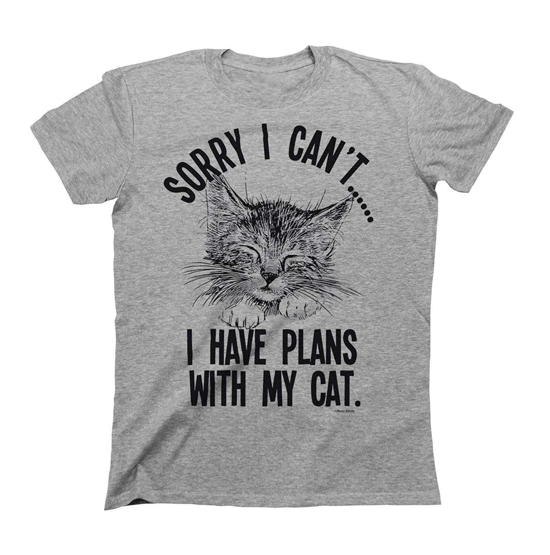 68a776fe00 A soft tee that s a big meow-d for any pet-owning introvert. Amazon ...