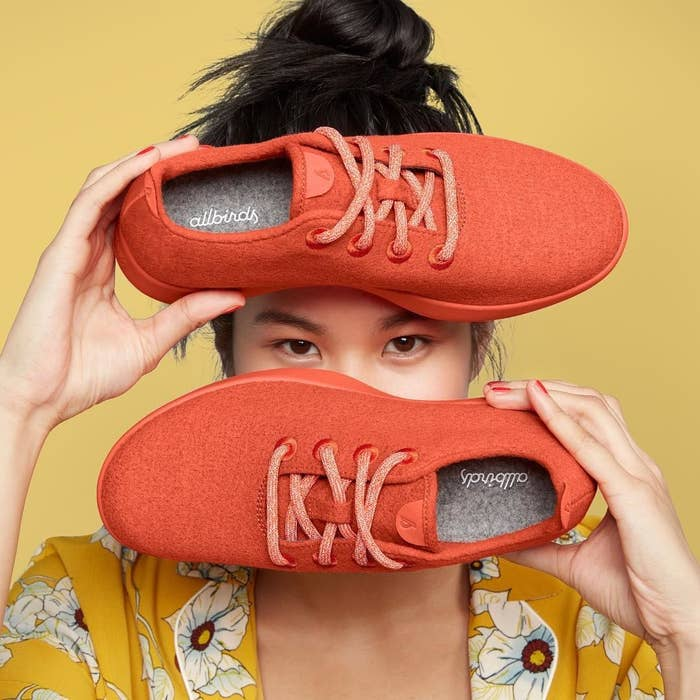f1e03010df9b3 Allbirds wool sneakers so incredibly soft and cozy, you'll feel like you're  walking on the FLUFFIEST cloud imaginable. These shoes also have a padded  insole ...