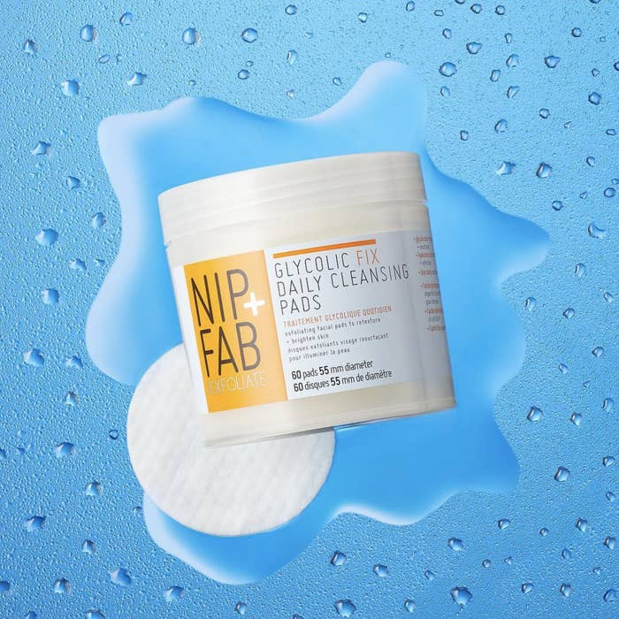 """These are designed to resurface and retexture your skin, revealing an exfoliated and brightened complexion beneath!Get a container of 60 pads from Amazon for $6.55.Promising review: """"I'm really impressed with these pads. I've suffered from adult cystic acne for about a decade now, and have tried countless products over the years. Adding these things into my skincare routine has made my skin look bright and clear like porcelain. I still get the occasional blemish, but they're always very small and go away in a day or two. I highly recommend them."""" —Caroline Powell"""