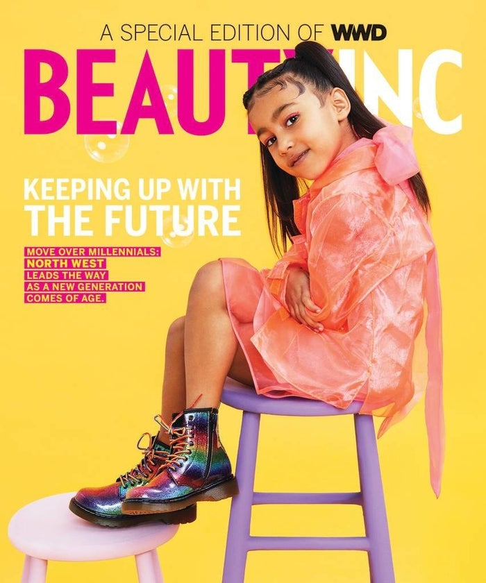 The daughter of Kim Kardashian West and Kanye West will star on the cover and have a spread in WWD. This is, without a doubt, the cutest thing I've ever seen.