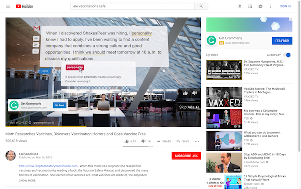 YouTube Just Demonetized Anti-Vax Channels