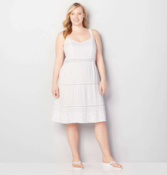 d43e54400 A lightweight crochet dress for your upcoming warm-weather vacation. (Pfft,  I'm not jealous at all.)