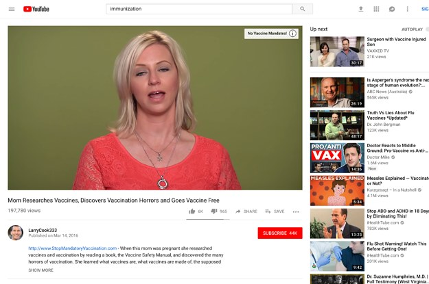 Anti Vaccine Activists Have Taken >> Youtube Just Demonetized Anti Vax Channels