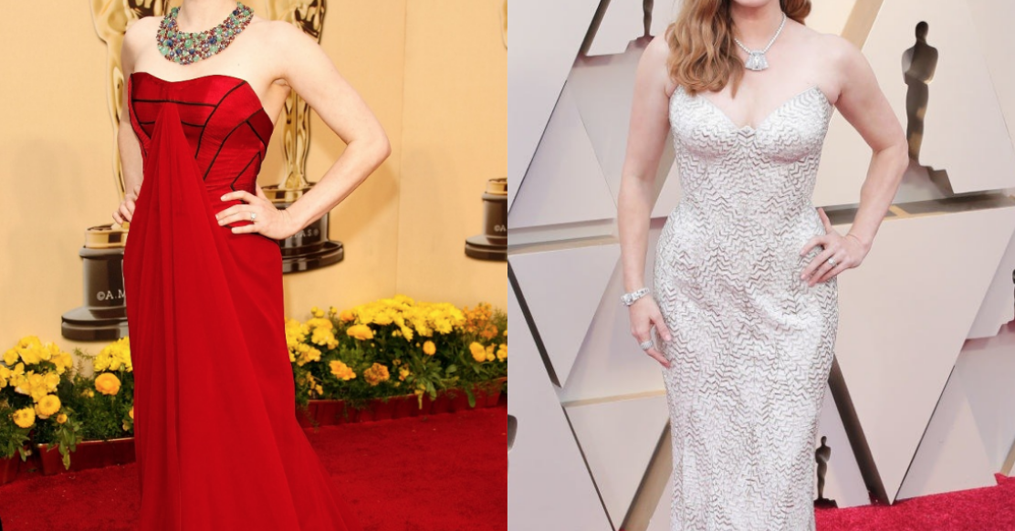 Here's What Celebrities Wore To The Oscars Ten Years Ago Vs. Today
