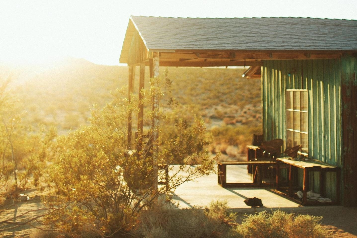 If you've ever dreamt of spending a night beneath the stars in Joshua Tree desert, now's your chance to make it a reality. See the listing here.