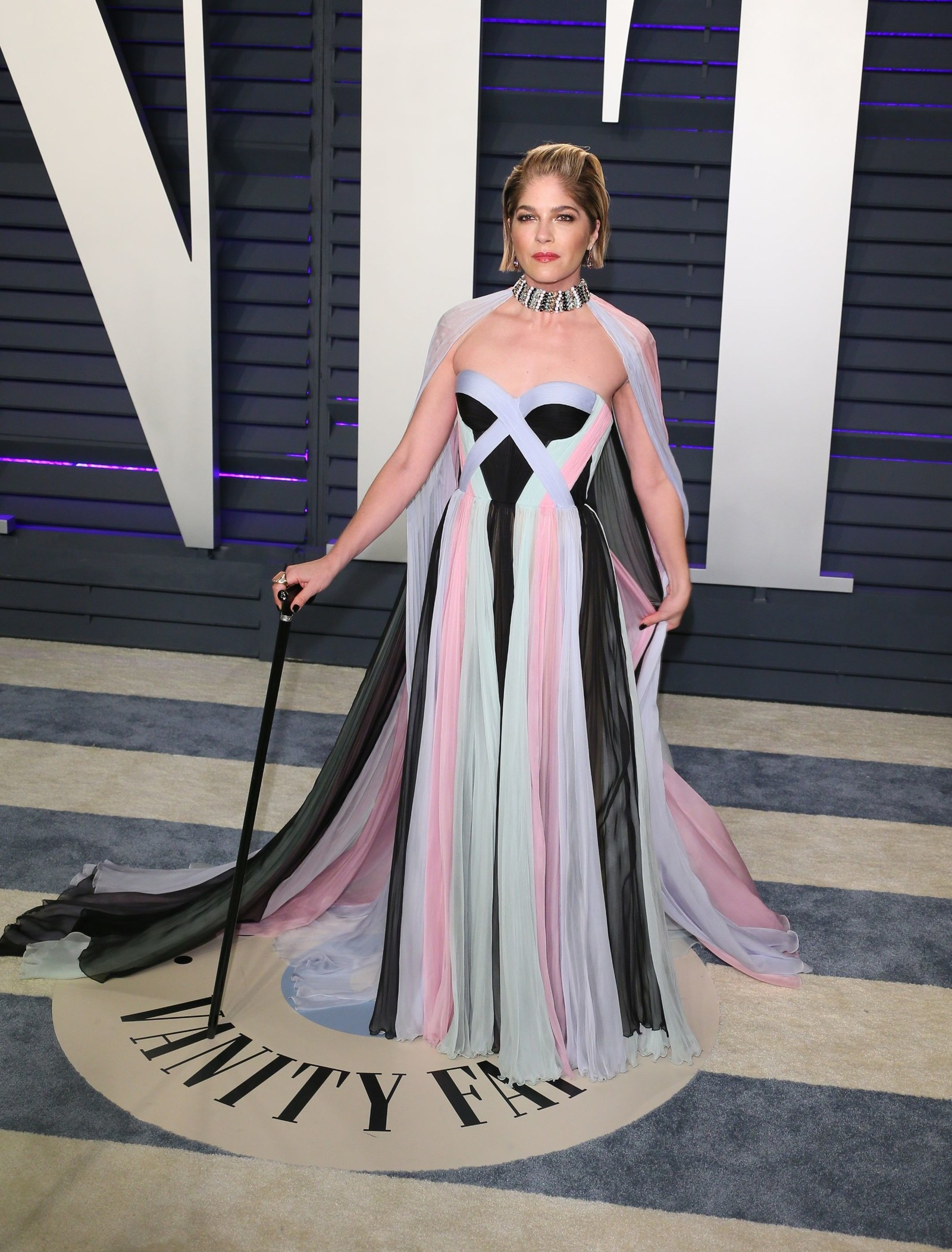 It was her first red carpet appearance since she announced her diagnosis.