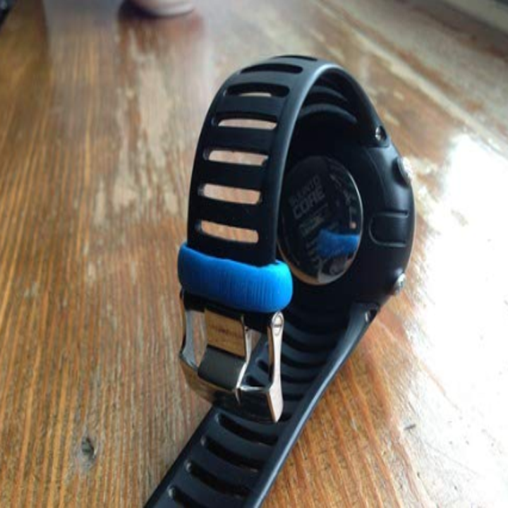 Moldable glue used to fix watch