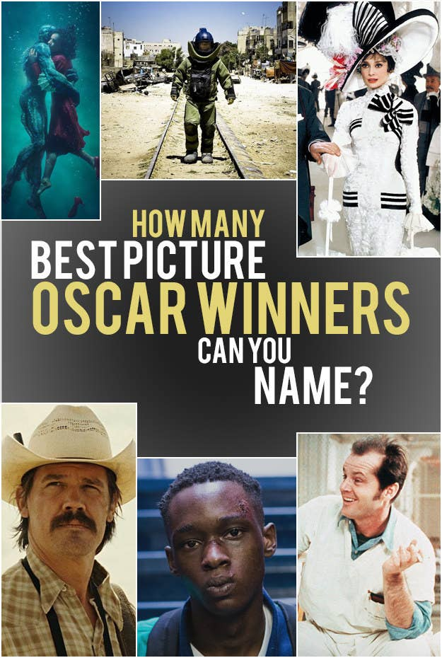 Best Picture Oscar Winners: How Many Can You Name?